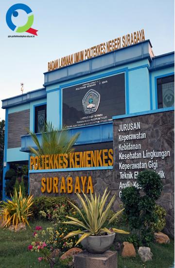 Gedung PJM Poltekkes Kemenkes  Surabaya